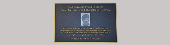 JROTC Room Dedication - Salem High School